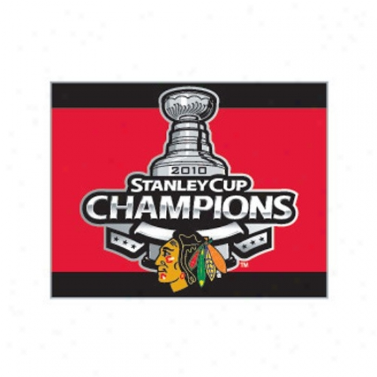 Black Hawks Cap : Black Hawks 2010 Nhl Stanley Cup Champions Red Collector Pin