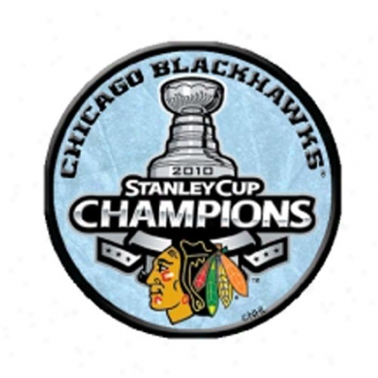 Blackhawks Hats : Blackhawks 2010 Nhl Stanley Cup Champions Round Photoart Collectible Pin