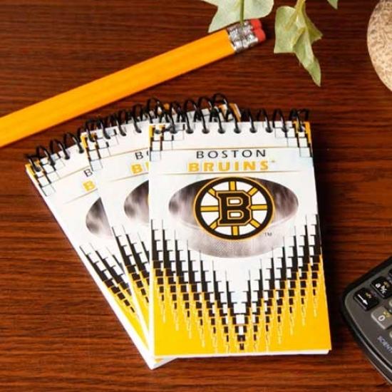Boston Bruins 3-pack Team Memo Pads