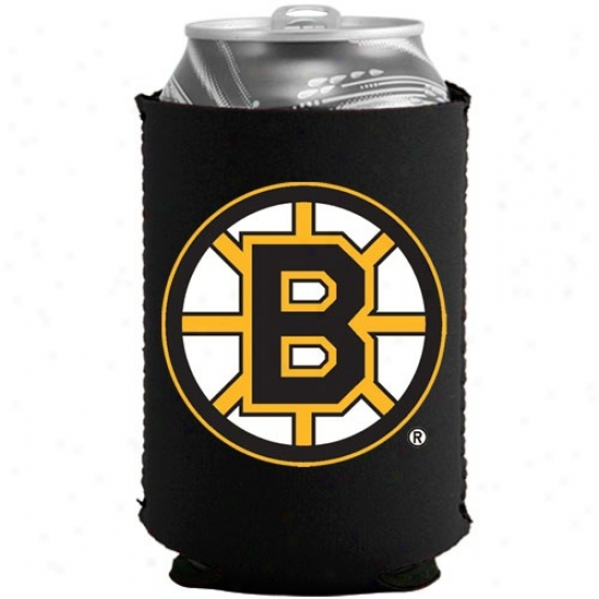 Boston Bruins Black Collapsible Can Cooiie