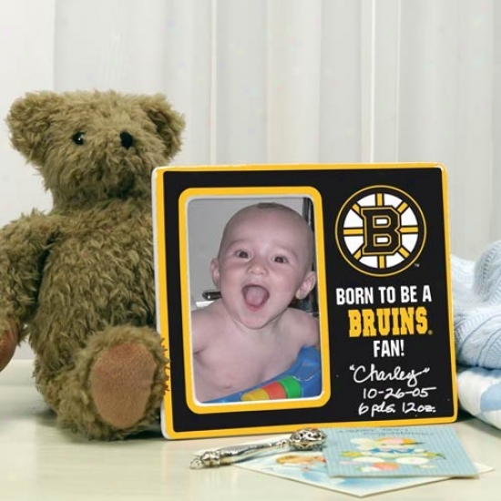 Boston Bruins Born To Be Picture Frame