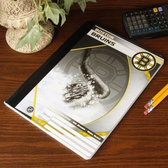 Boston Bruins Composition Notebook