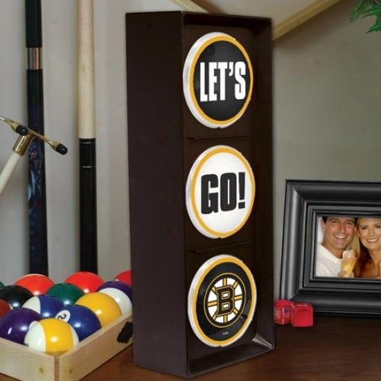 Boston Bruins Flashing L3t's Fashion Light