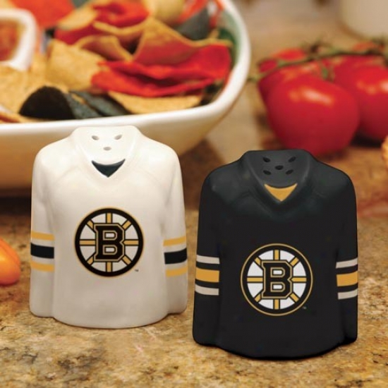 Boston Bruins Gameday Ceramic Salt & Pepper Shakers