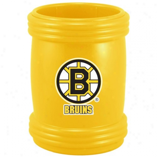 Boston Bruins Gold Magna-coolie Magnetic Beverage Holder
