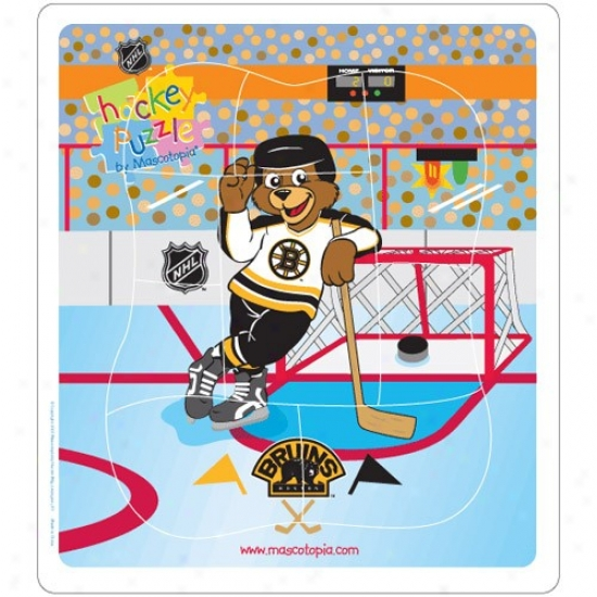 Boston Bruins Hockey Puzzle