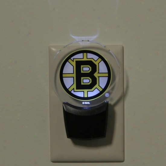 Boston Bruins Led Night Light