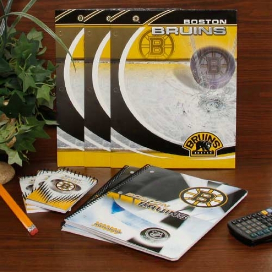 Boston Bruins School Combo Pack