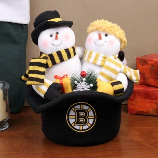 Boston Bruins Snowmen Overmuch Hat