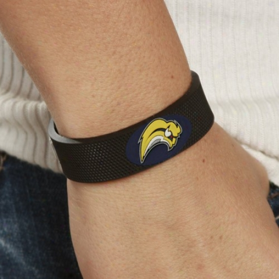 Buffalo Sabres Black Hockey Bracelet