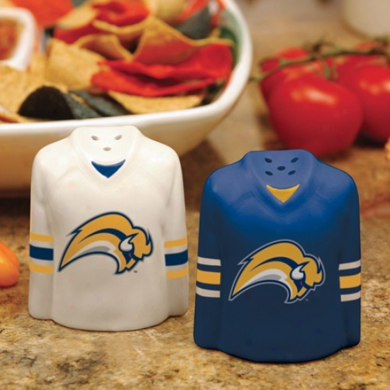 Buffalo Sabres Gameday Ceramic Salt & Pepper Shakers