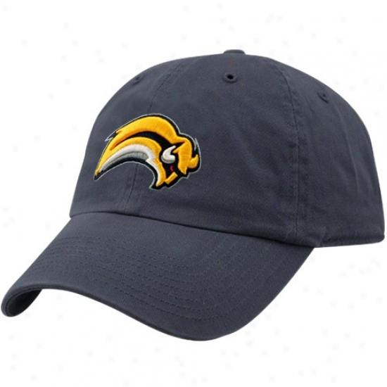 Buffalo Sabres Gear: Twins Enterprise Buffalo Sabres Navy Blue Hockey Franchise Fitted Hat