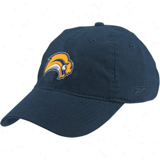 Buffalo Sabres Hat : Reebok Buffapo Sabres Navy Blue Ladies Slouch Hat