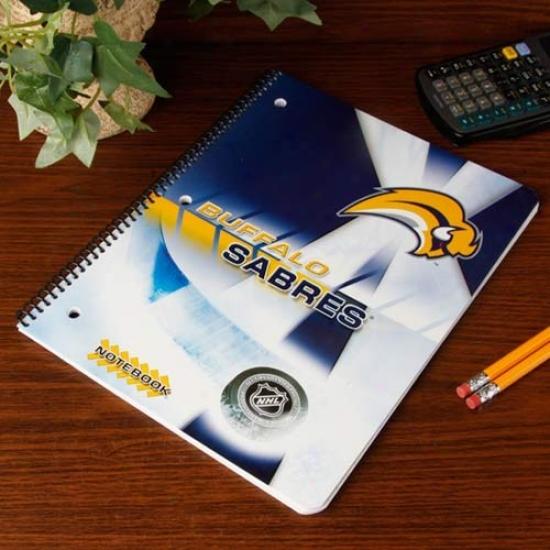 Buffalo Sabres Notebook