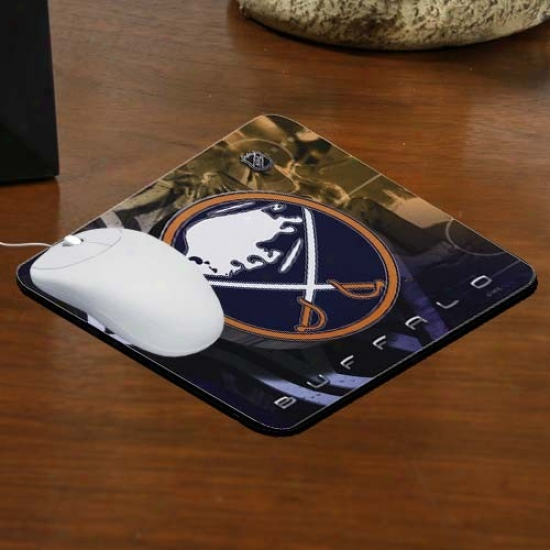 Buffalo Sabres Team Logo Neoprene Mousepad
