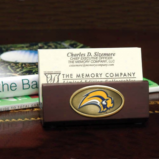 Buffalo Sabres Wooden Business Card Holder
