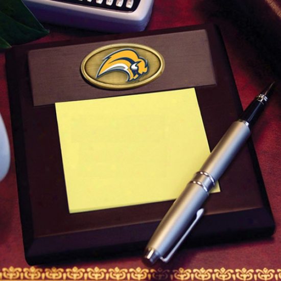 Buffalo Sabres Wooden Memo Pad Holder