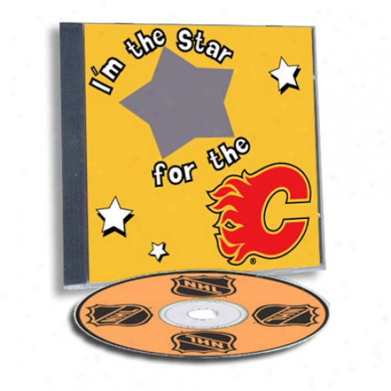 Calgary Flames Gamble Hdro Cust0m Sports Cd