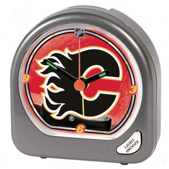 Calgary Flames Plastic Alarm Clock