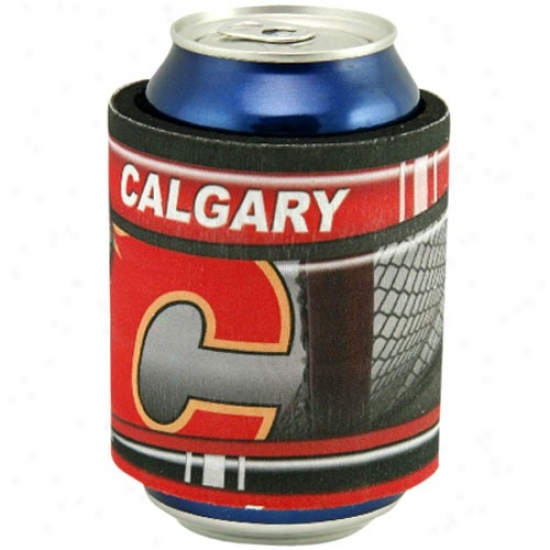 Calgary Flames Slap Wrap Can Coolie