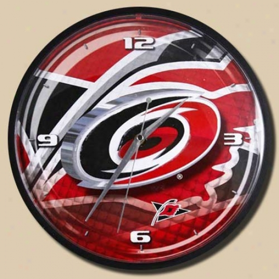Carolina Hurricanes 12'' Wall Clock
