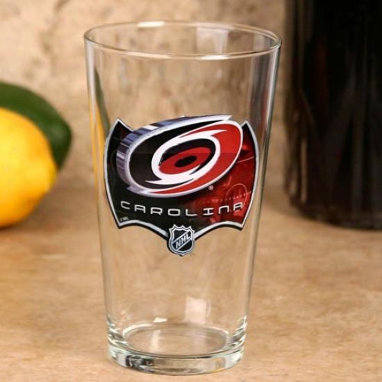 Carolina Hurricanes 17 Oz. Enhanced Hi-def Mixing Glass