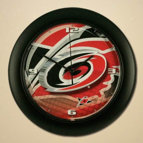 Carolina Hurricanes High Definition Wall Clock