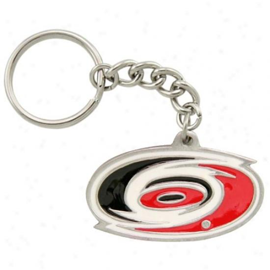 Carolina Hurricanes Pewter Primary Logo Keychain