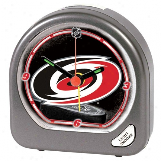 Carolina Hurricanes Plastic Call to arms Clock