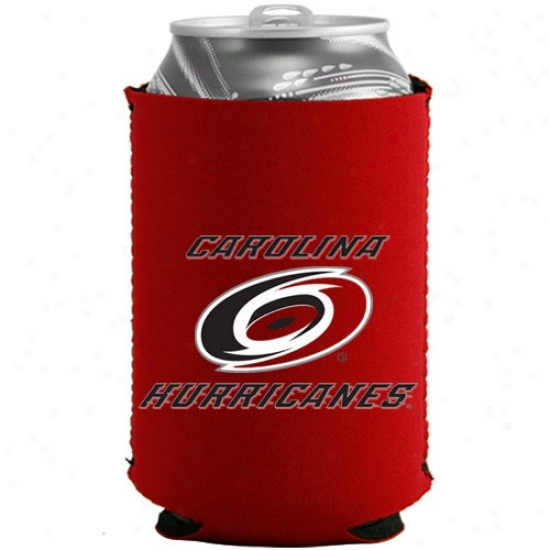 Carolina Hurricanes Red Collapsible Can Coolie