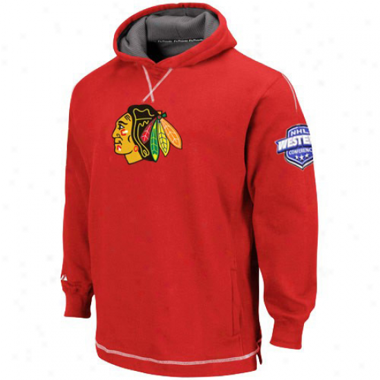 Chicago Black Hawks Hoody : Majestic Chicago Black Hawks Youth Red The Liberation Pullover Hoody