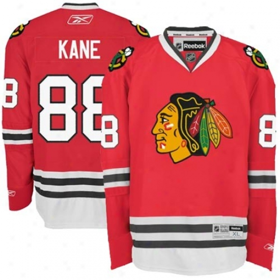 Chicago Black Hawks Jerseys : Reebok Chicago Black Hawks #88 Patrick Kane Red Premier Hockey Jerseys