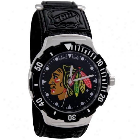 Chicago Black Hawks Watches : Chicago Black Hawks Agent V Watches