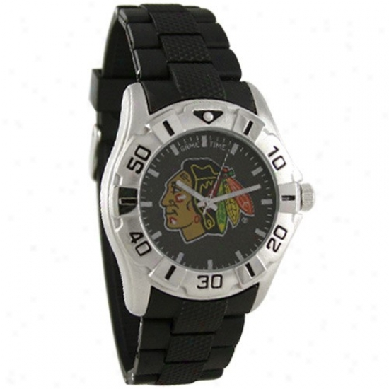 Chicago Dismal Hawks Watches : Chicago Black Hawks Mvp Wqtches