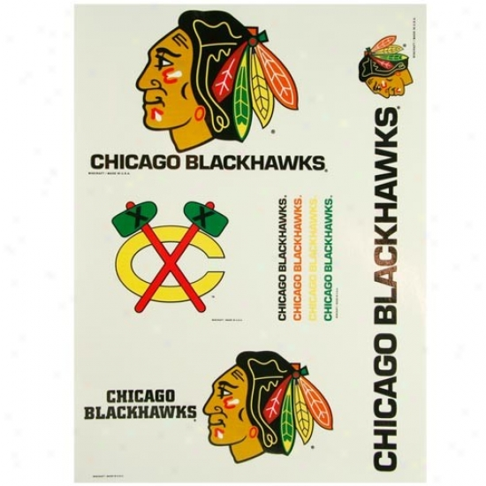Chicago Blackhawks 11 X 17 Ultra Decals
