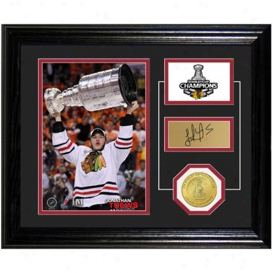 Chicago Blackhawks 2010 Nhl Stanley Cup Champions Jonathan Toews Stanley Cup Pride Photo Mint