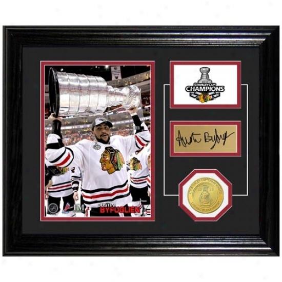 Chicago Blackawks 2010 Nhl Stanley Cup Champions Dustin Byfuglien Stanley Cup Pride Photo Mint