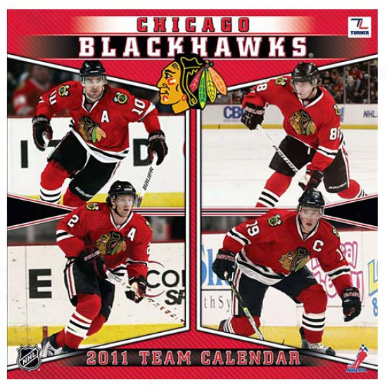 Chicago Blackhawks 2011 Wall Calendar