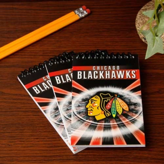 Chicsgo Blackhawks 3-pack Team Memo Pads