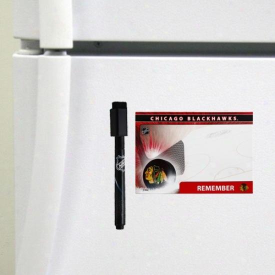 Chicago Blackhawks 4-pack Magnetic Dry-erase Boards