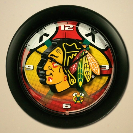 Chicago Blackhawms High Dsfinition Wall Clock