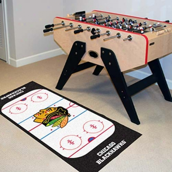 Chicago Blackhawks Hockey Runner Mat