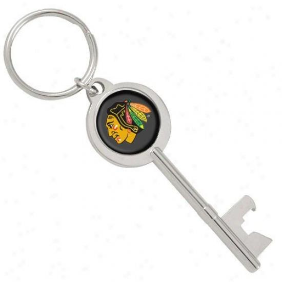 Chicago Blackhawks Key Bottel Opener Keychain
