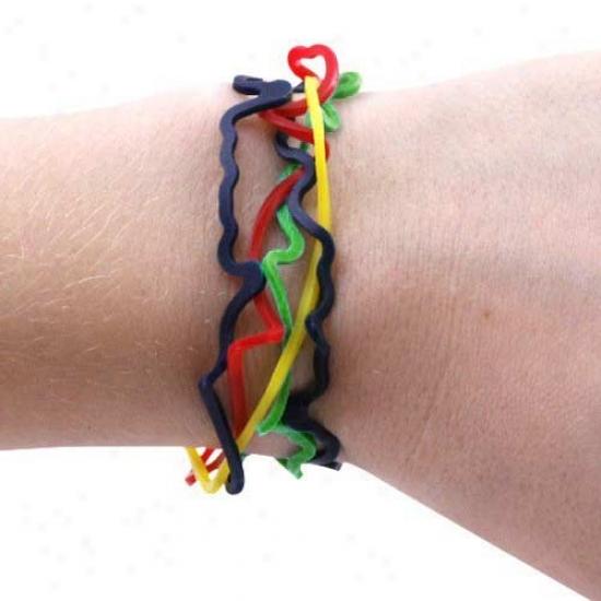 Chicago Blackhawks Logo Bandz Bracelets