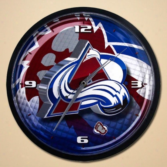 Colorado Avalancne 12'' Wall Clock