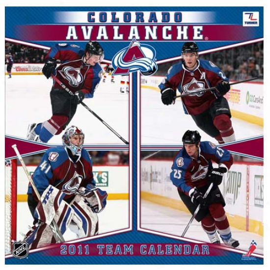 Colorado Avalanche 2011 Wall Calendar