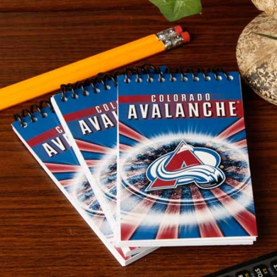 Colorado Avalanche 3-pack Team Memo Pads