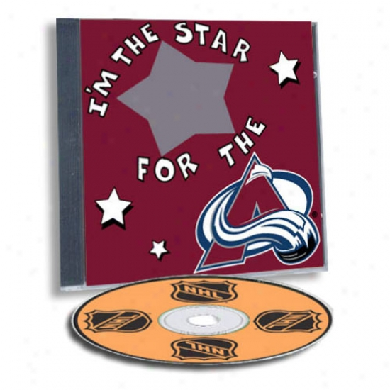 Colorado Avalanche Game Hero Custom Sports Cd