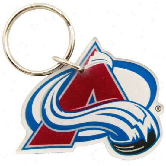 Colorado Avalanche High Definition Keychain