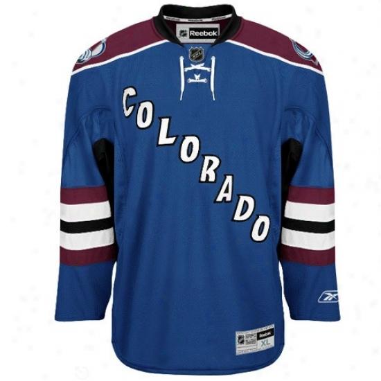 Colorado Avalanche Jerseys : Reebok Colorado Avalanche Royal Blue Premier Hockey Jerseyw